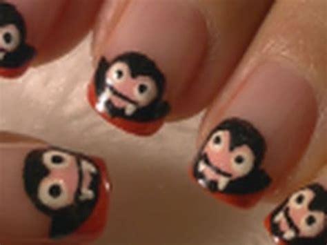 halloween nail art tutorial youtube halloween nails cute dracula vire halloween nail art