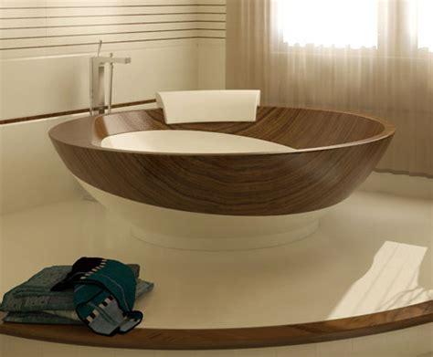 designer freestanding bathtubs wood bathroom design ideas fusion style by flora