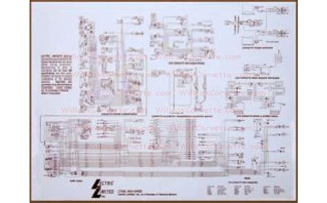 1974 corvette headlight wiring diagram fuse box and
