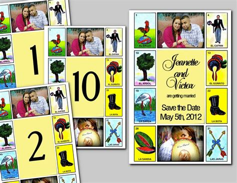 loteria template cinco de mayo mexican wedding lots of pictures weddingbee