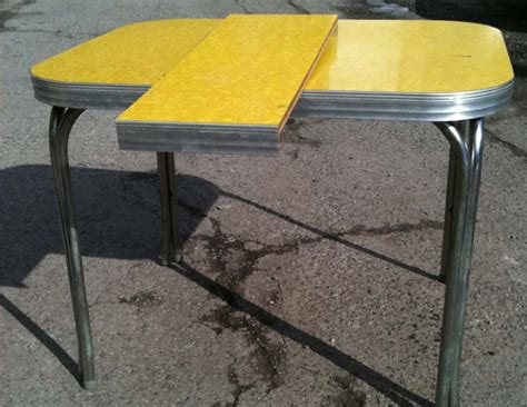 yellow kitchen table yellow formica table on vintage design seeur