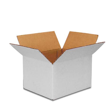 Paper Boxes - cardboard boxes white rsc cartons