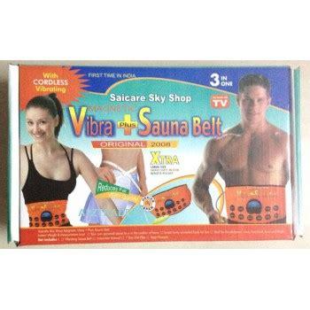 Sauna Belt Plus T1310 3 3 in 1 vibra plus sauna belt saicare 40 eye cool mask free worth rs 499