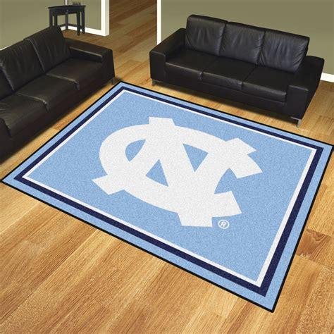 area rugs nc carolina tar heels area rug 8 x 10