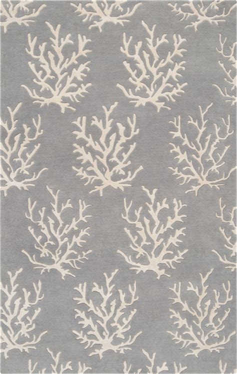 coral reef rug light gray coral reef escape rug ii modern rugs by rosenberry rooms