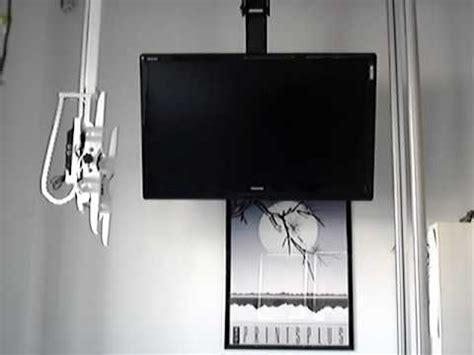 tv a soffitto maior flip 174 sollevatore tv soffitto apertura a libro