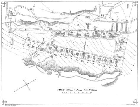 fort huachuca map fort huachuca arizona map