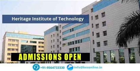Mba Colleges In Kolkata With Low Fee Structure heritage institute of technology fees structure
