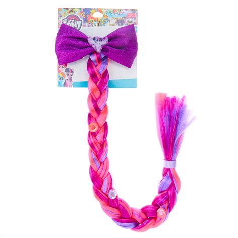 Hairclip Poni Poni Clip my pony twilight sparkle braid hair clip s