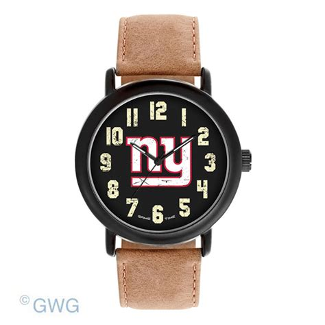 new york giants time nfl throwback brown leather