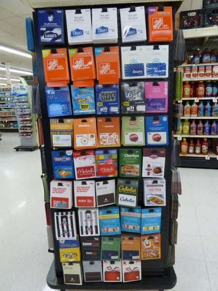 gift cards tersteegs grocery store  gas station