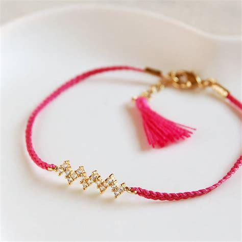 zig zag friendship bracelet by highland