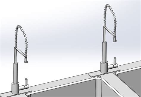 kitchen grease trap design 3 compartment kitchen sink with grease trap solidworks