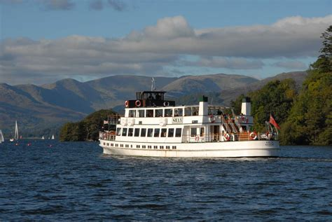 boat trip on lake windermere windermere lake cruises visit cumbria