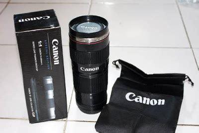Mug Lensa Canon 24 70mm Bisa Di Zoom Tempat Minum akos kios mug cangkir bentuk lensa canon nikon termurah reseller welcome