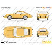 The Blueprintscom  Vector Drawing Porsche 911