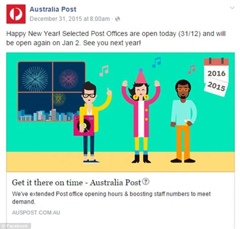 australia post new year sts angry customers slam australia post for closing offices on