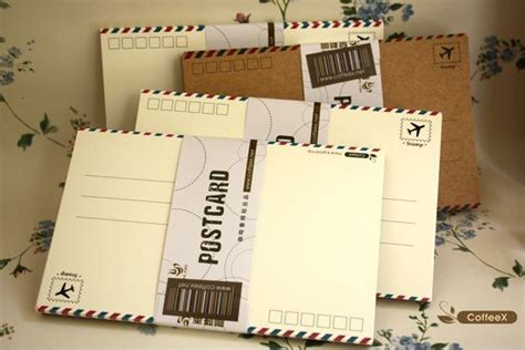 Blank Gift Cards Wholesale - wholesale 24pcs set 144pcs lot blank gift cards diy greeting cards set white