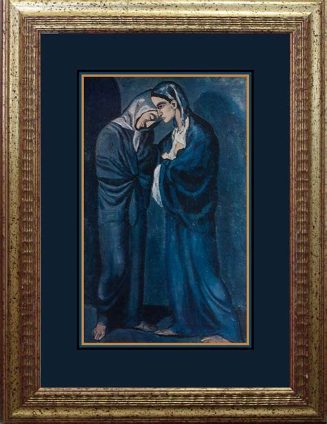 original picasso paintings value hermitage original lithograph pablo picasso blue period