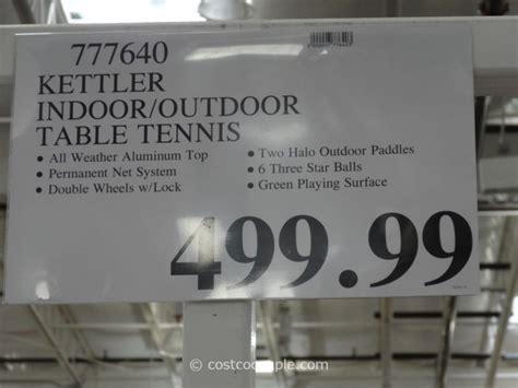 kettler ping pong table outdoor costco kettler table tennis set