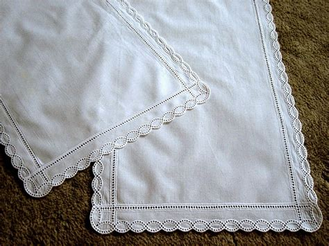 Dresser Scarves by Runner Table Dresser Scarf White Eyelet By