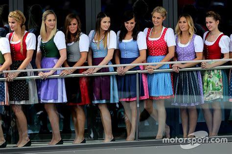 Lovely Austrian girls at Austrian GP