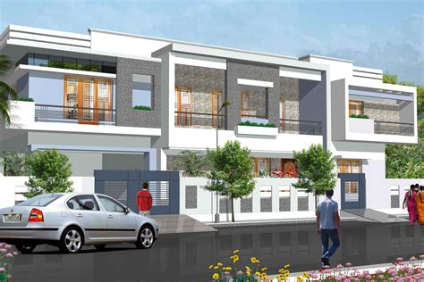 house exterior design row houses interior exterior plan
