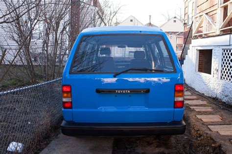 Toyota Vans For Sale 1985 Toyota For Sale