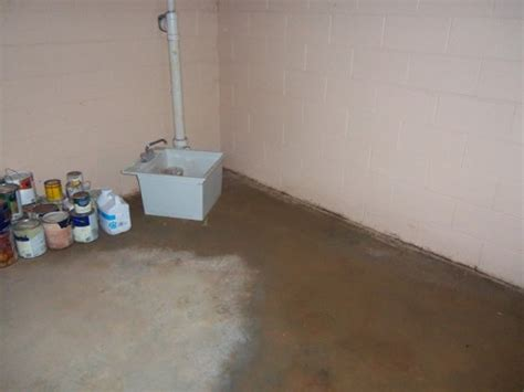 waterproofing concrete basement floors