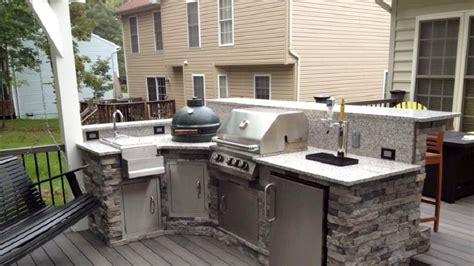 outdoor kitchen kits with sink diy outdoor kitchen is this a project for you angie s list
