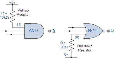 ctyrvrstva dioda logic gate pull resistor 28 images how to connect a pull resistor pull resistor multiplexer