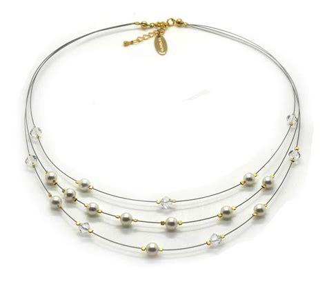 Hochzeit Perlen by Brautschmuck In Gold Perlenschmuck Hochzeit