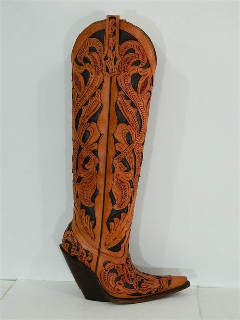 custom made cowboy boots for made 18 168 tooled western cowboy boots made to