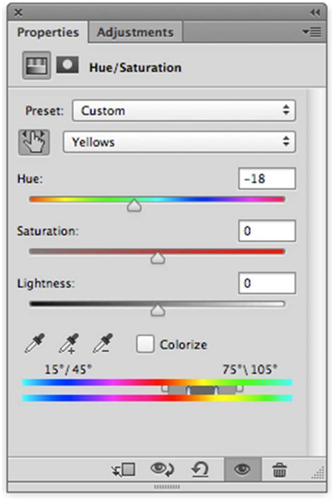 adobe photoshop hue saturation tutorial photoshop tip for change colour using hue saturation
