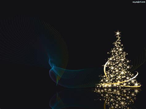 grafika świąteczna choinka na pulpit