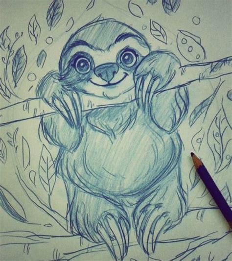 doodle sloth m 225 s de 25 ideas en tendencia sobre sloth drawing en