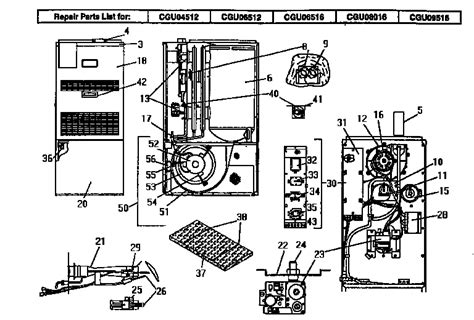 Coleman Evcon Furnace Wiring Diagram Wiring Diagram Manual