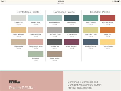 behr paint colors 2017 home painting