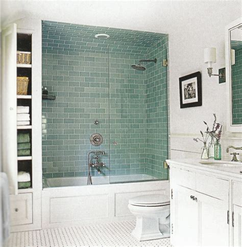 Subway Tile Design And Ideas Small Bathroom Remodeling Subway Tile Within Awesome Designs Image Home Interior