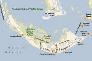 where is island on a florida map sanibel island map free printable maps