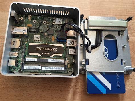 Mini Pc Intel Nuc5i3ryh 4h500 d 233 ballage et installation du mini pc intel 174 nuc nuc5i3ryh