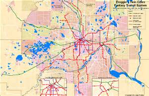 Minnesota Light Rail Thoughts On A Fantasy Twin Cities Transit System