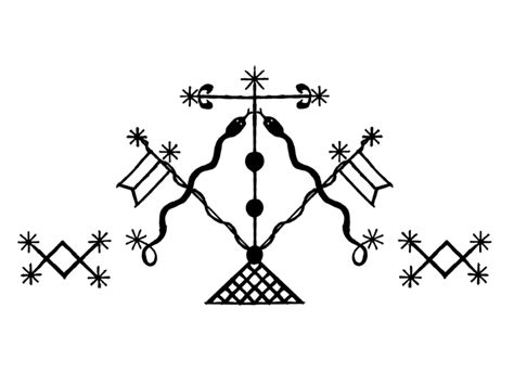 hatian voodoo veve symbols meaning v 233 v 233 vodou symbols signs and symbols of cults gangs