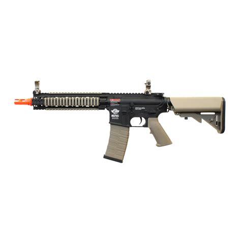 Airsoft Gun Combat Machine Mk18 Mod1 Aeg Rifle Airsoft Gun Black