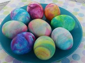 dying eggs with food coloring create tie dyed eggs for easter