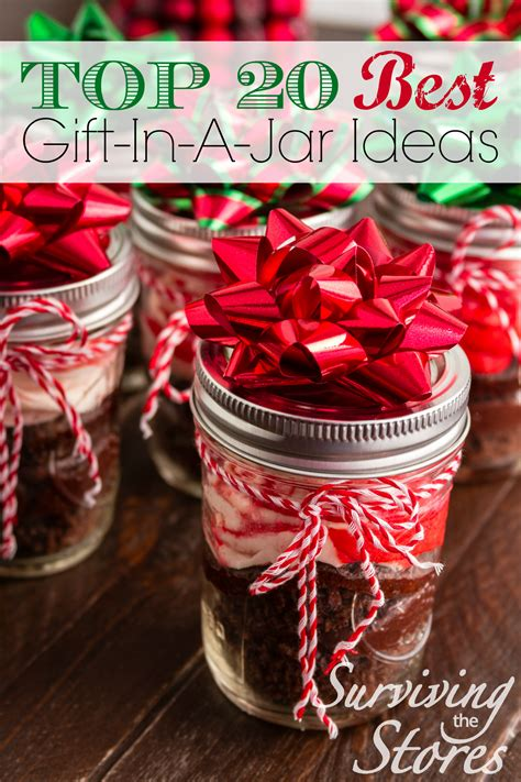 in a jar gifts 20 unique ideas for gifts in a jar surviving the stores