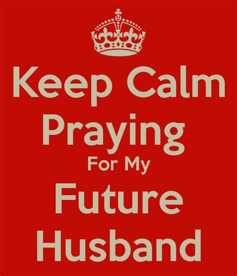 Ordinal Keep Calm And praying for your husband