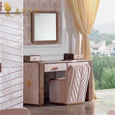 mobile da da letto toletta con specchio e sedia da letto set da
