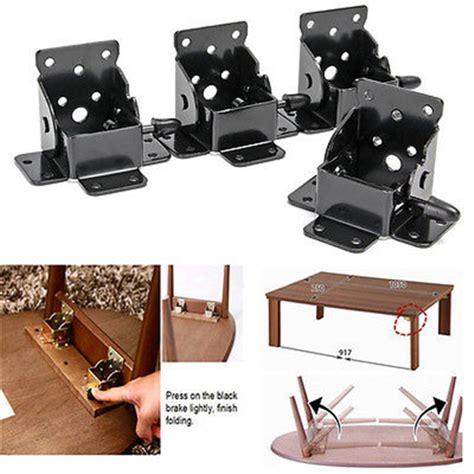 fold up table hinges iron locking folding bracket folding table leg hinges ebay