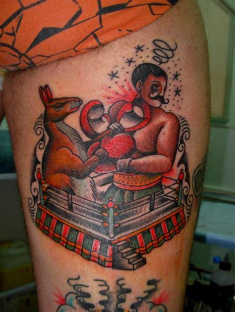 new school kangaroo tattoo old school tiger tattoo for men best tattoo design ideas